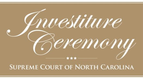 Supreme Court investiture invite